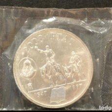 Monedas Juan Carlos I: 2000 PESETAS 1997 ANIVERSARIO DEL NACIMIENTO DE CERVANTES PLATA EN BOLSA ORIGINAL. Lote 117943859