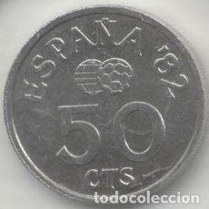 Monedas Juan Carlos I: 50 CENTIMOS 1980 MUNDIAL DE FUTBOL. Lote 199464600