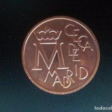 Monedas Juan Carlos I: MEDALLA BODAS DE PLATA DE JUAN CARLOS Y SOFÍA 1987 CECA MADRID. SIN CIRCULAR.. Lote 119729455
