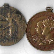 Monedas Juan Carlos I: MEDALLA EXPOSICION UNIVERSAL DE BARCELONA 1888. Lote 121131283