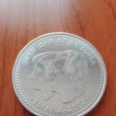 Monedas Juan Carlos I: 12 EUROS AÑO 2004. BODA FELIPE. PLATA. Lote 121729295