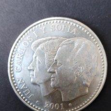 Monedas Juan Carlos I: MONEDA DE 2000 PESETAS PLATA DE JUAN CARLOS I DEL 2001. Lote 122251871