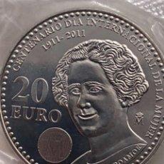 Monedas Juan Carlos I: 2011 CENTENARIO DEL DÍA INTERNACIONAL DE LA MUJER. Lote 123047299