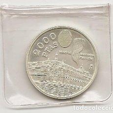 Monedas Juan Carlos I: ESPAÑA 1995. MONEDA DE PLATA DE 2000 PESETAS. PRESIDENCIA UE. SIN CIRCULAR. Lote 125113599