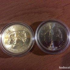 Monedas Juan Carlos I: LOTE DE DOS MONEDAS DE 12 EUROS PLATA 2010 ESPAÑA - PRESIDENCIA ESPAÑOLA DE LA UNIÓN EUROPEA. ENCAPS. Lote 125238647