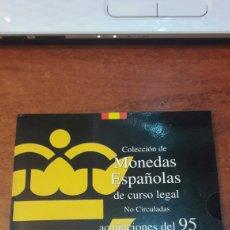 Monedas Juan Carlos I: ESPAÑA 1995 FNMT CARTERITA JUAN CARLOS. Lote 125287654