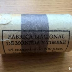 Monedas Juan Carlos I: CARTUCHO FMNT DE 25 MONEDAS 100 PESETAS 1975 ESTRELLA 76. Lote 125958403