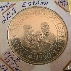 Monedas Juan Carlos I: 2000 PESETAS DE PLATA DE 1990. QUINTO CENTENARIO. Lote 127571683