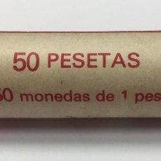 Monedas Juan Carlos I: 50 MONEDAS DE PESETA. CANUTO DEL BANCO POPULAR ESPANOL. Lote 128305487