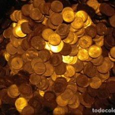 Monedas Juan Carlos I: LOTE 1 KILO MONEDAS 1 PESETA JUAN CARLOS I MUCHAS NUEVAS CASI 300 MONEDAS. Lote 128312663