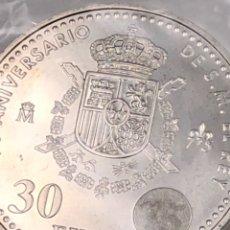 Monedas Juan Carlos I: 75 ANIVERSARIO DE SU MAJESTAD EL REY JUAN CARLOS I. Lote 123048187