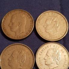 Monedas Juan Carlos I: LOTE DE 4 MONEDAS DE 100 PESETAS JUAN CARLOS I. Lote 129184948