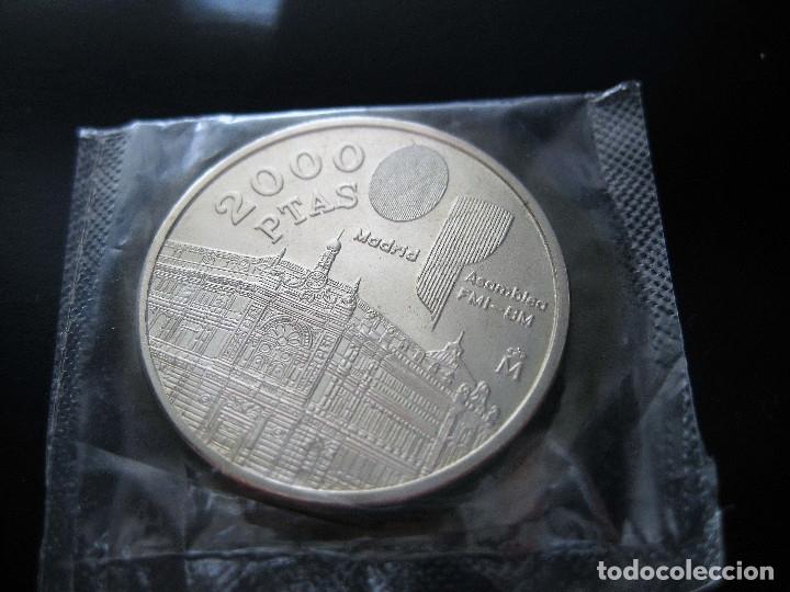 1994 - ESPAÑA - 2000 PESETAS - MONEDA PLATA JUAN CARLOS I (SIN CIRCULAR) UNC (Numismática - España Modernas y Contemporáneas - Juan Carlos I)