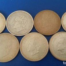 Monedas Juan Carlos I: LOTE 7 MONEDAS PLATA 2000 PTAS.. Lote 130912632