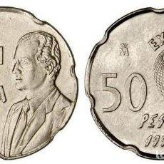 Monedas Juan Carlos I: COLECCION 50 PESETAS . DESDE 1990 A 1997. 9 MONEDAS. Lote 130976576