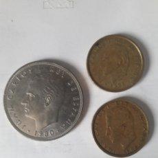 Monedas Juan Carlos I: 3 MONEDAS DE 100 PESETAS.. Lote 130981548