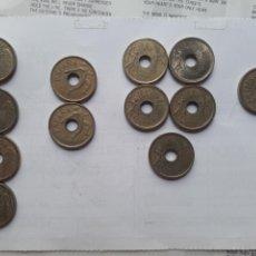 Monedas Juan Carlos I: 12 MONEDAS DE 25 PTAS. Lote 130983411