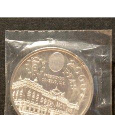 Monedas Juan Carlos I: 2000 PESETAS 1995 PRESIDENCIA DEL CONSEJO U.E JUAN CARLOS I PLATA ESPAÑA EN BOLSA ORIGINAL. Lote 132610870
