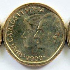 Moedas Juan Carlos I: ESPAÑA SERIE 3 MONEDAS JUAN CARLOS I 500 PESETAS 1999-2000-01 SC. Lote 132699602