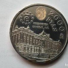 Monedas Juan Carlos I: MONEDA DE PLATA 2000 PESETAS PRESIDENCIA CONSEJO UE - JUAN CARLOS I 1995. Lote 133449878