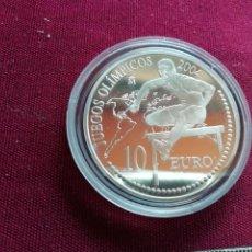 Monedas Juan Carlos I: 10 EURO DE PLATA DE 2004. JUEGOS OLÍMPICOS. SALTADOR DE VALLA. Lote 134039610