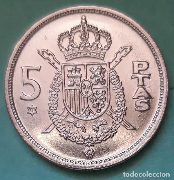 ESPAÑA - 5 PESETAS 1975 * 79 - S/C - SACA DE CARTUCHO - VISITA MIS OTROS ARTÍCULOS Y AHORRA GASTOS (Numismática - España Modernas y Contemporáneas - Juan Carlos I)