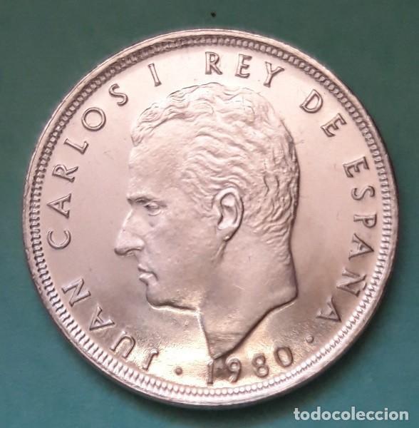 Monedas Juan Carlos I: ESPAÑA - 5 PESETAS 1980 * 81 - S/C - SACA DE CARTUCHO - VISITA MIS OTROS ARTÍCULOS Y AHORRA GASTOS - Foto 2 - 151408485
