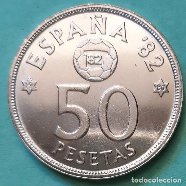 ESPAÑA - 50 PESETAS 1980 * 80 - S/C - MDF 1982 - SACA DE CARTUCHO - VISITA MIS OTROS ARTÍCULOS0 (Numismática - España Modernas y Contemporáneas - Juan Carlos I)