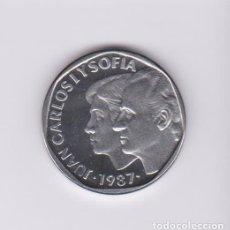 Monedas Juan Carlos I: MONEDAS - JUAN CARLOS I - 500 PESETAS 1987 - (ACERO) PRUEBA (25 ANIVERSARIO BODA). Lote 135443994