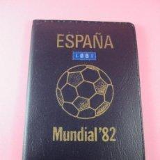 Monedas Juan Carlos I: NN9920-CARTERA MONEDAS-SERIE NUMISMÁTICAS-ESPAÑA MUNDIAL 82 *81-ORIGINALES-NUEVAS-.. Lote 39390974