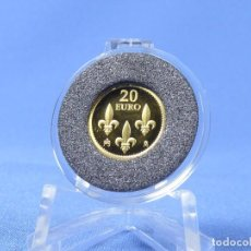 Monedas Juan Carlos I: ESPAÑA 20 EUROS 2013 75 ANIV. REY 1´24 GR ORO 999MM. Lote 135890886