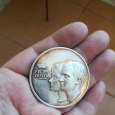 Monedas Juan Carlos I: MONEDA-MEDALLA BODA REAL EN LA ALMUDENA.DE PLATA 999.SOLO 1000 PIEZAS. Lote 136127998
