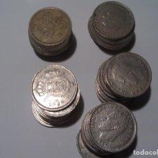 Monedas Juan Carlos I: 50 MONEDAS DE 5 PESETAS DEL REY. Lote 136202162