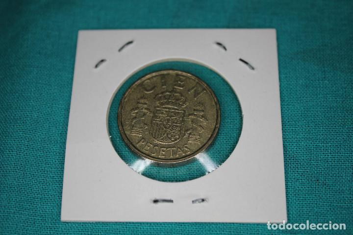 Monedas Juan Carlos I: España 100 pesetas de Juan Carlos I del año 1989 - Foto 2 - 136225762