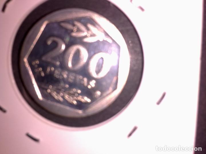 200 PESTAS DE1987 ESTRELLA E-87 (Numismática - España Modernas y Contemporáneas - Juan Carlos I)
