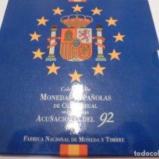 Monedas Juan Carlos I: ESTUCHE MONEDAS 1992 FNMT S/C. Lote 137808458