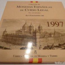 Monedas Juan Carlos I: ESTUCHE MONEDAS 1997 FNMT S/C. Lote 137808902