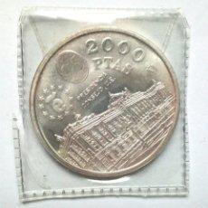 Monedas Juan Carlos I: MONEDA DE 2000 PESETAS AÑO 1995 PRESIDENCIA UE. Lote 138098117