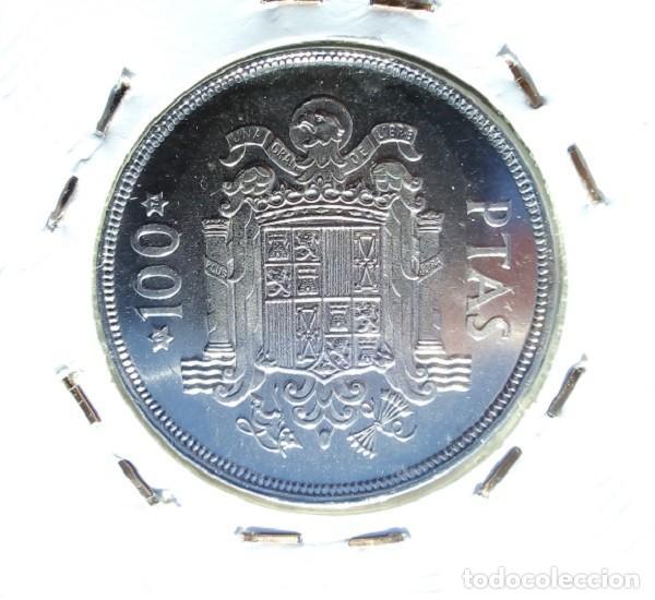 Monedas Juan Carlos I: ESPAÑA - 100 PESETAS 1975 * 76 - ENCARTONADA - S / C - SACADA DE CARTUCHO - VISTA MIS OTROS LOTES - Foto 2 - 138651814