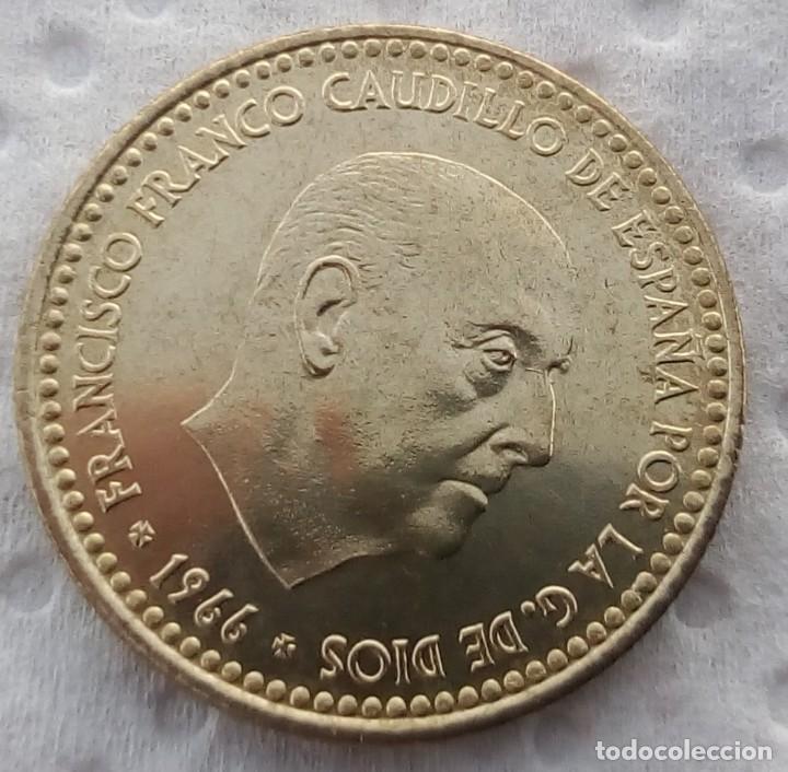 Monedas Juan Carlos I: ESPAÑA - 1 PESETA 1966 * 73 - ENCARTONADA - S / C - SACADA DE CARTUCHO - VISTA MIS OTROS LOTES - Foto 2 - 138660242
