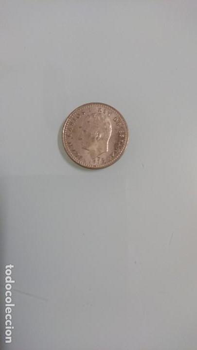 MONEDA UNA PESETA 1975 (Numismática - España Modernas y Contemporáneas - Juan Carlos I)