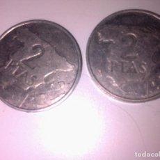 Monedas Juan Carlos I: 2 MONEDAS DE 2 PESETAS AÑO 1982 Y 1984. Lote 138988150