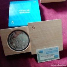 Monedas Juan Carlos I: CINCUENTÍN DE PLATA DE 10000 PESETAS DE 1998. CASA DE BORBÓN. Lote 139535522