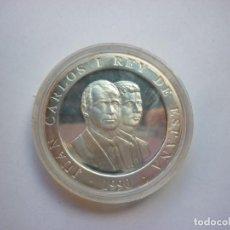 Monedas Juan Carlos I: MONEDA 2000 PESETAS 1990 , PLATA , OLIMPIADA BARCELONA 1992 , EMBLEMA OFICIAL ENCAPSULADA. Lote 139635266