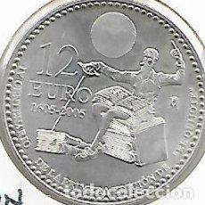 Monedas Juan Carlos I - MONEDA PLATA ESPAÑA 12 EURO 2005. KM#1067. - 140148142
