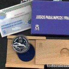 Monedas Juan Carlos I: ESPAÑA 1000 PESETAS PLATA 1996 PROOF JUEGOS PARALIMPICOS ATLANTA 96. Lote 142579573