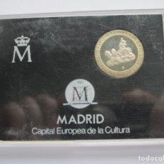 Monedas Juan Carlos I: JUAN CARLOS I * 200 PESETAS 1992 * MADRID CAPITAL EUROPEA DE LA CULTURA * PLATA ** TIN. Lote 141609702