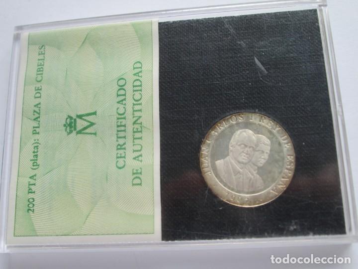 Monedas Juan Carlos I: JUAN CARLOS I * 200 PESETAS 1992 * MADRID CAPITAL EUROPEA DE LA CULTURA * PLATA ** TIN - Foto 2 - 141609702