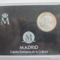 Monedas Juan Carlos I: JUAN CARLOS I * 200 PESETAS 1992 * MADRID CAPITAL EUROPEA DE LA CULTURA * PLATA ** TIN. Lote 141609762