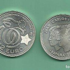 Monedas Juan Carlos I: PLATA-ESPAÑA: 12 EUROS 2009. X ANIVERSARIO UNIÓN EUROPEA. Lote 142802938